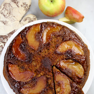 Skillet Caramel Apple Cake