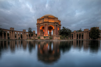 Photo: San Francisco Summer San Francisco, CA. 2012  A little artistic license was used in the title, but not that much, in fact winter in San Francisco, is often warmer than the summer. I had intended to get up and shoot the blue hour at sunrise at the Palace of Fine Arts. But in good fashion I snoozed the alarm and missed the blue hour by about 15 minutes. (Btw, the blue hour doesn't really last an hour!)  This was my consolation prize.  I'm looking forward to shooting this place a few more times this year.