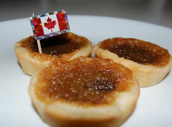 Butter Tarts / Tarte Au Sucre Recipe