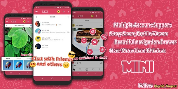Mini for Instagram™ ~ Mini IG ❤️  Apk Download for Android 8