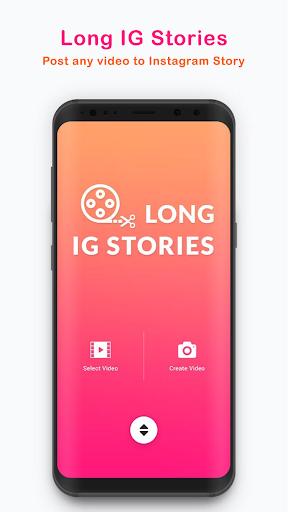 Long Stories - upload full story on instagram 2.0.1 screenshots 1