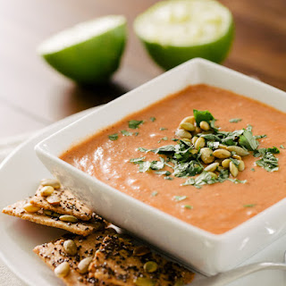 Simple Indian-Spiced Tomato Soup with Lime.