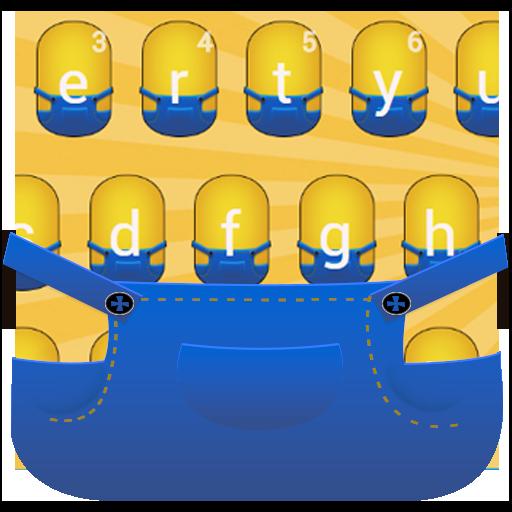 Yellow Boy Cartoon Keyboard