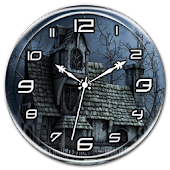 Haunted House Clock Live WP