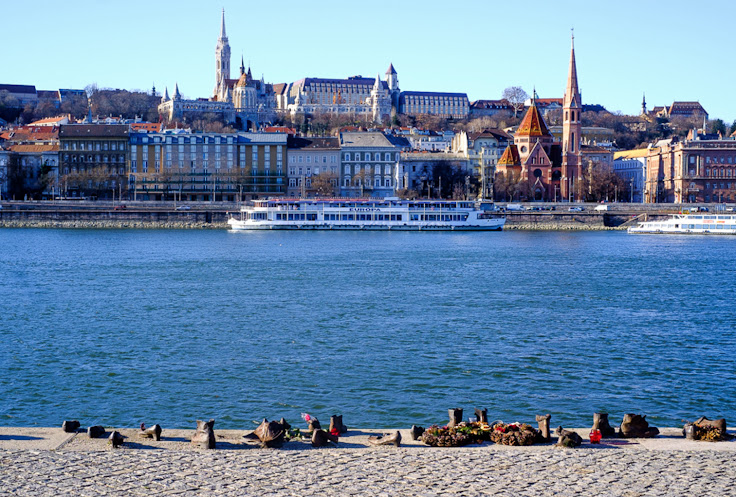 A view of Buda from the banks of the Danube.  Photo: Ariel Broitman.