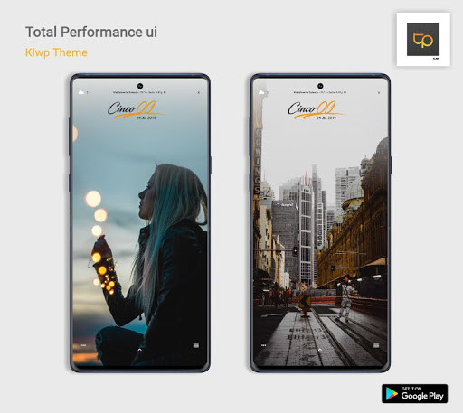 Total Performance UI Klwp/Kustom screenshot 1