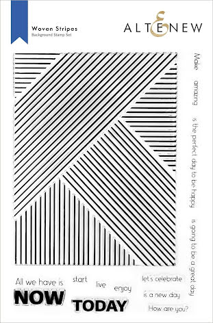 Altenew Clear Stamps 6X8 - Woven Stripes