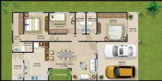 casa rectangular 3