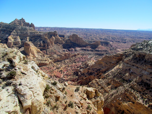 Sulphur Canyon overlook