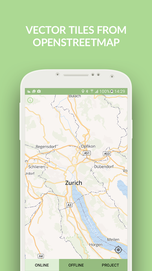 OpenMapTiles- screenshot