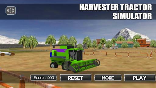 Harvester Tractor Simulator