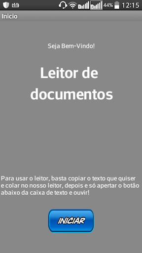 Leitor de Documentos