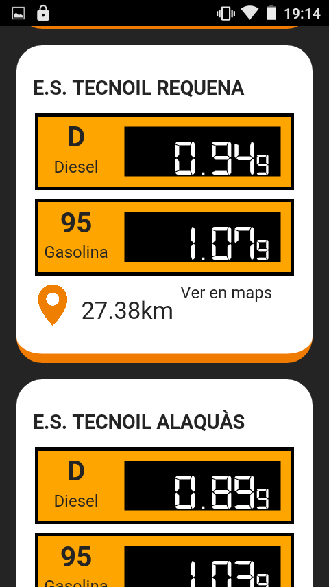 Tecnoil Low Cost- screenshot