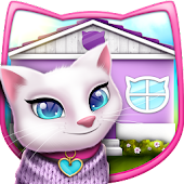 Pet Cat House Decoration Games