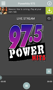 Power Hits 97.5- screenshot thumbnail