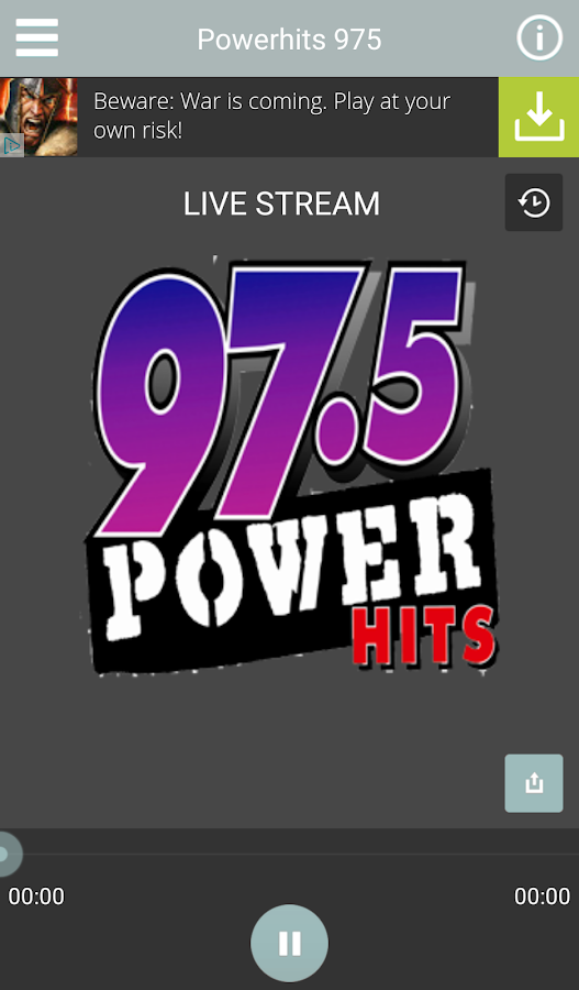 Power Hits 97.5- screenshot