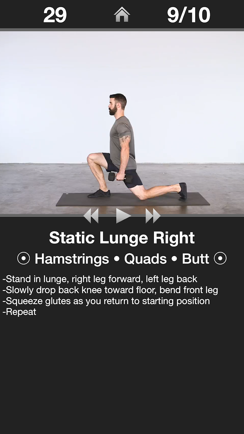 Daily Leg Workout Screenshot 1