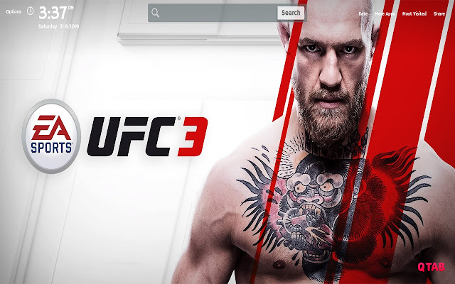 Ufc Wallpapers New Tab Theme