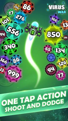 Virus War - Space Shooting Game 1.7.5 screenshots 4