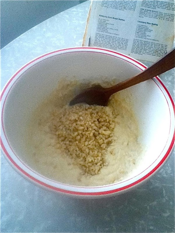 To the bowl holding the egg yolks,  add: melted butter and buttermilk. ...