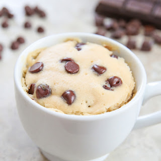 Chocolate Chip Mug Cake.