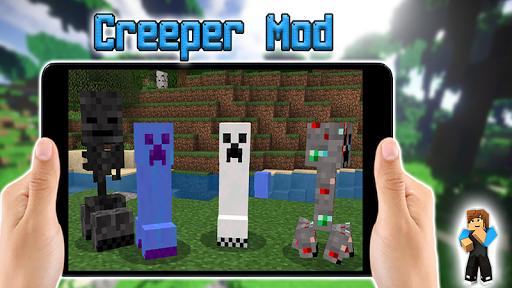 creeper mod for minecraft pe screenshot 2
