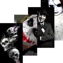 Download Scary Wallpapers Horror Skull Joker Anonymous For Pc