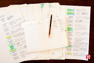 Photo: Índex de l'índex : classificant els més de 300 aforismes que he publicat a Llibres Artesans amb l'ajuda d'un índex alfabètic de telèfons.