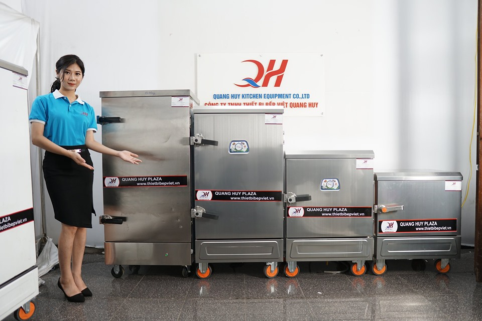 Thương hiệu tủ cơm công nghiệp Quang Huy chất lượng cao