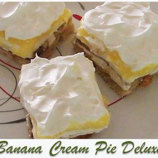 Banana Cream Pie Deluxe