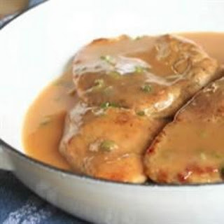 Chicken Breasts with Chipotle Gravy