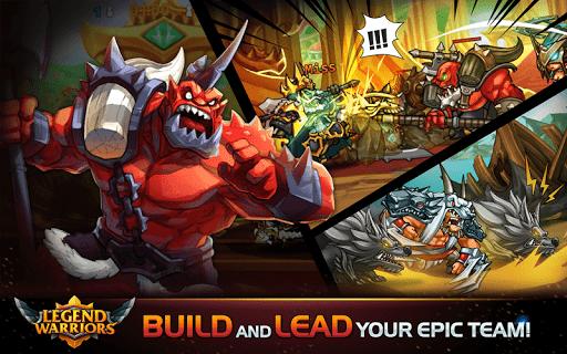 Télécharger Gratuit Legend Heroes: Epic Battle APK MOD (Astuce) screenshots 1