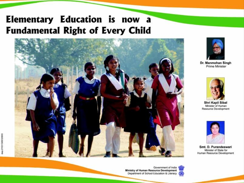 Right to Education Act Poster