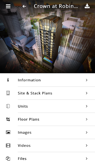Huttons Projects screenshot for Android