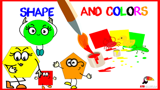 Learn shapes colors for kids