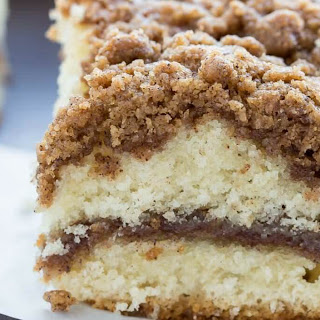Cinnamon Crumb Coffee Cake.
