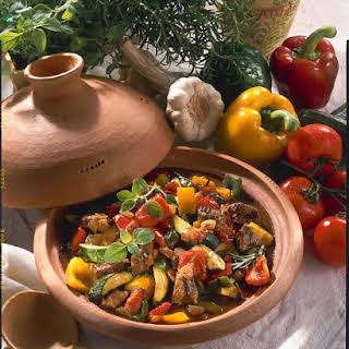 Lamb Stew with Mixed Vegetables.