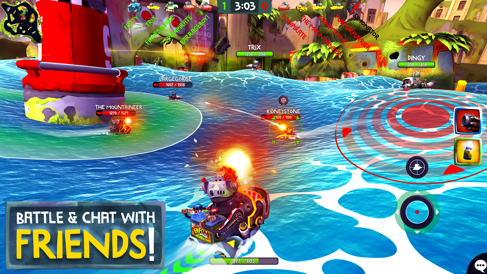 Battle Bay- screenshot