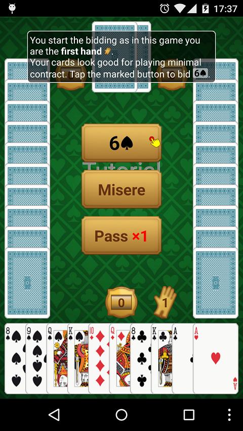 Preferans - screenshot