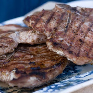 Five-Spice Pork Chops.