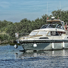 BATF boat 20 by Michael Moore - Transportation Boats