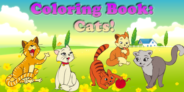 Coloring Book: Cats! - screenshot thumbnail