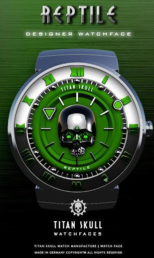 Reptile Watch Face