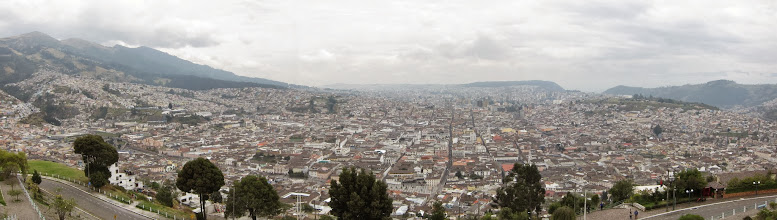 Photo: Quito panorama from Panecillo