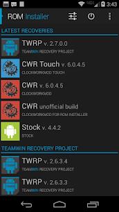 ROM Installer: برنامج التثبيت ROM 3