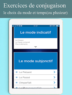 Download conjugueur-exercices conjugaison française For PC Windows and Mac apk screenshot 12