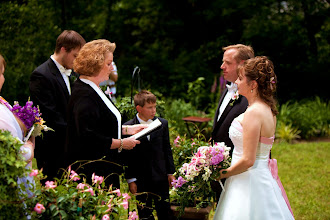 Photo: Waterfall Wedding Rosman, NC Wedding Officiant, Marriage Minister, Notary, Justice Peace - Brenda Owen - http://www.WeddingWoman.net      Photo courtesy Bliss Photography