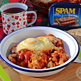 Chilli SPAM & Eggs.