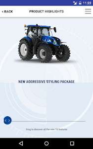 New Holland Ag. T6 range App screenshot 14