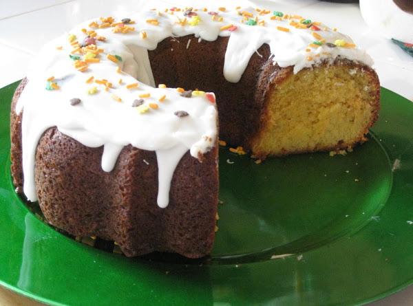 Eggnog Cake With Rum Frosting Recipe